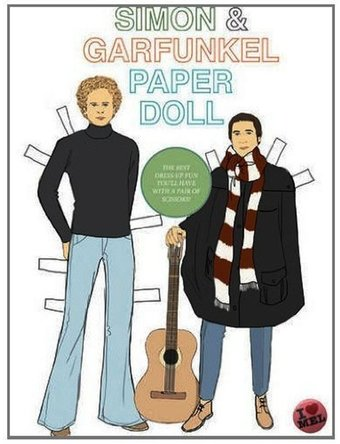 Simon and Garfunkel - Paper Doll Dress-Up