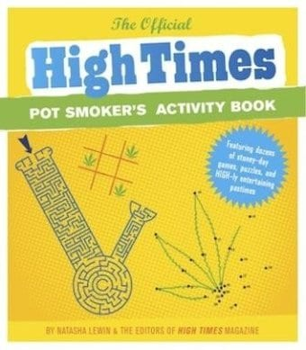 High Times - Pot Smokers Activity Book