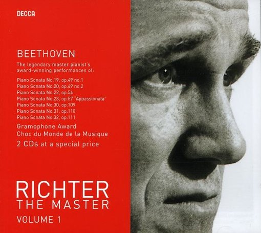 Richter the Master, Volume 1 - Beethoven: Piano