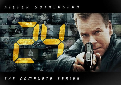 24 - Complete Series (55-DVD)