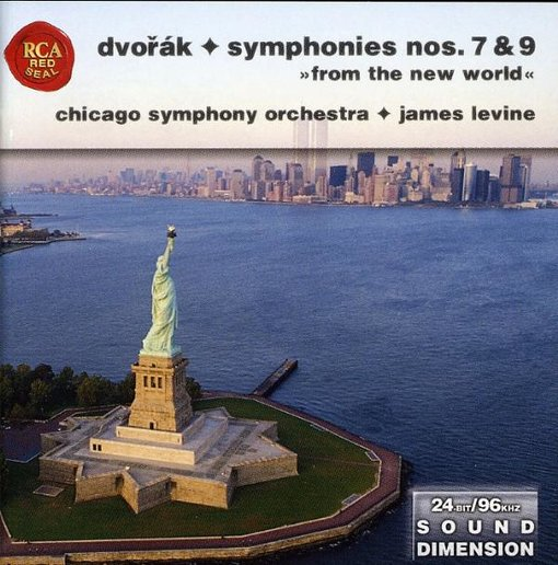 Dvorak: Symphonies Nos. 7, & 9- New World