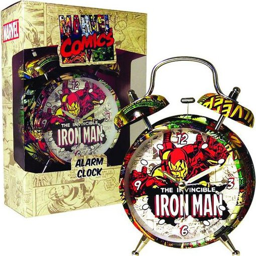 "Iron man - 4"" Alarm Clock"