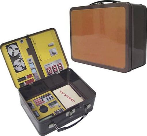 Oscar Goldman's Briefcase Tin Tote