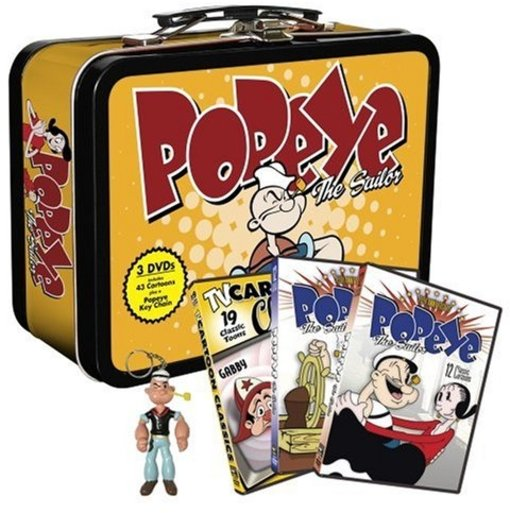 Popeye the Sailor: Collectible Lunchbox Tin with