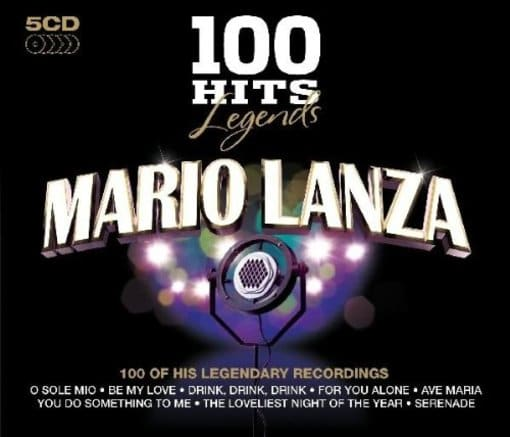 100 Hits Legends: Mario Lanza (5-CD)