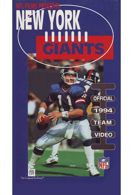 New York Giants: Official 1994 Team Video