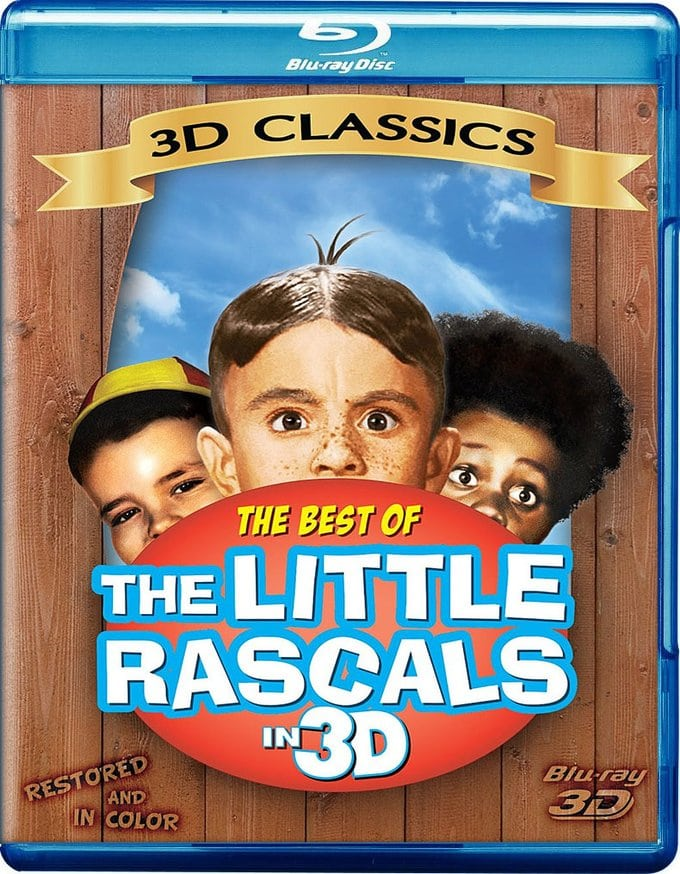 The Best of The Little Rascals 3D (Blu-ray)