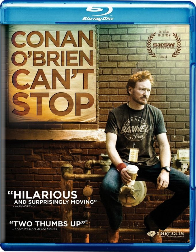Conan O'Brien Can't Stop (Blu-ray)