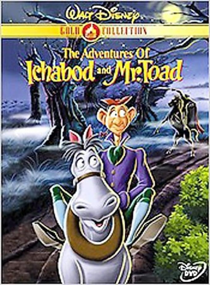 The Adventures of Ichabod and Mr. Toad (Gold