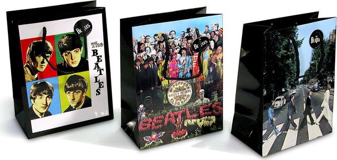 Beatles Small Gift Bag Set