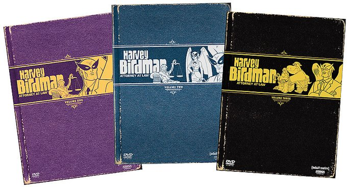 Harvey Birdman: Attorney at Law - Volumes 1-3