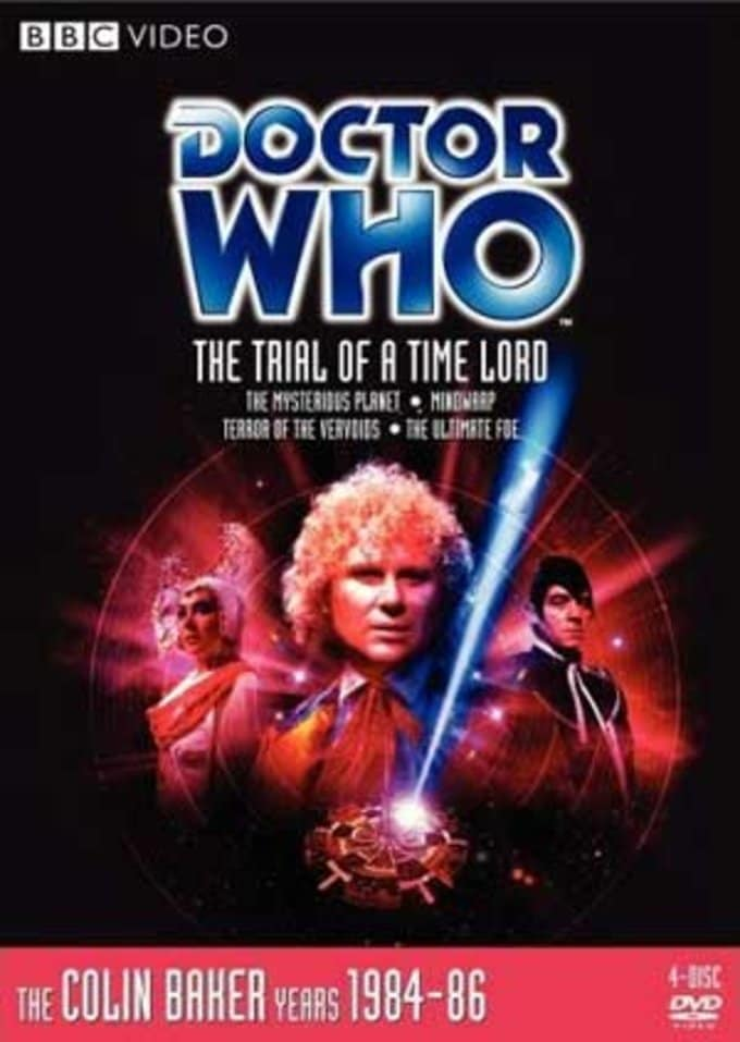 #143: Trial of a Time Lord (4-DVD)
