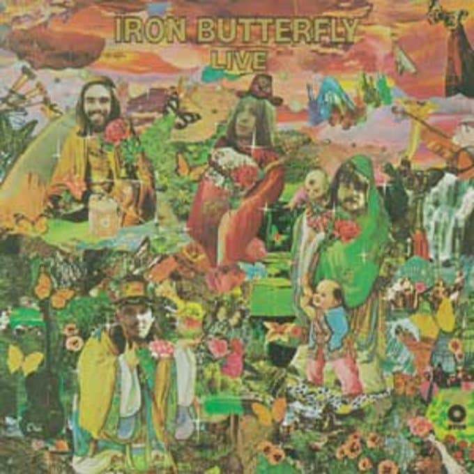 Iron Butterfly Live