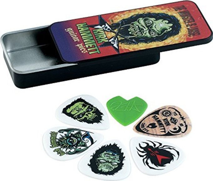 Kirk Hammett - Monster Pick Tin - 6 .88mm Picks