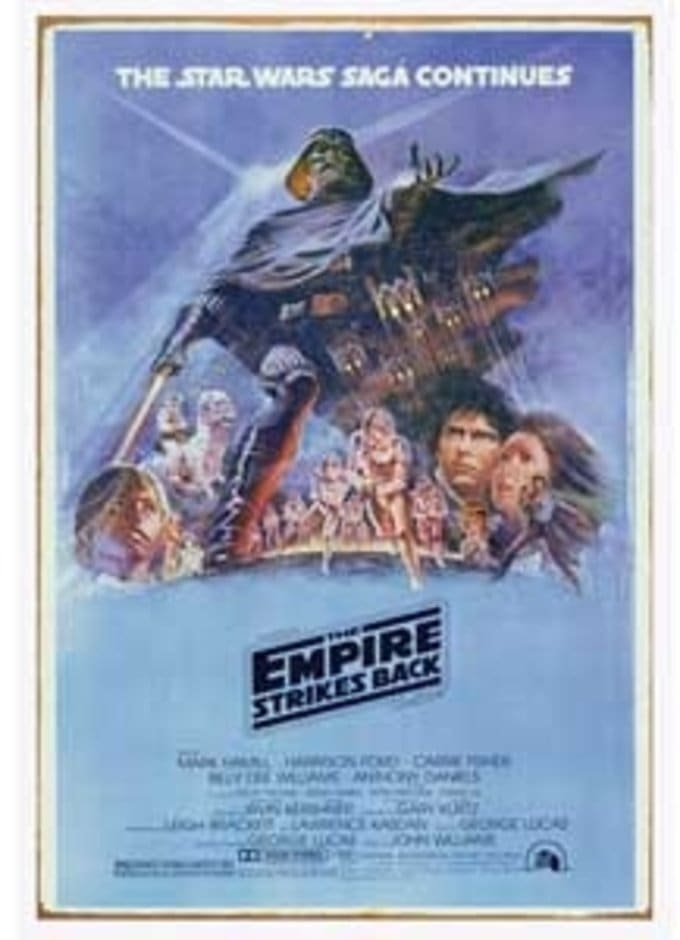 Star Wars - Empire Strikes Back: Heavy Gauge Sign