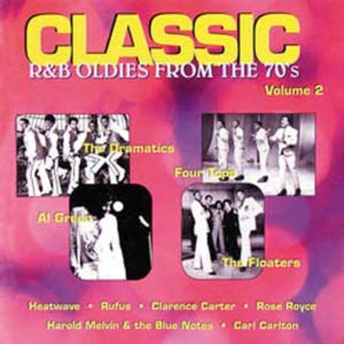 Classic R&B Oldies From The 70's, Volume 2