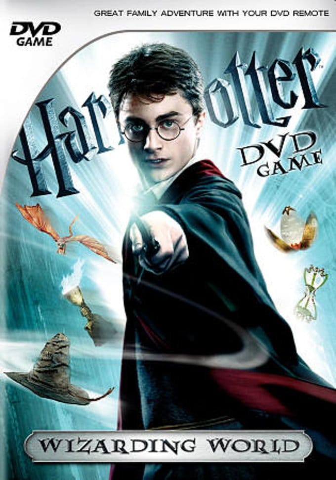 Wizarding World DVD Game
