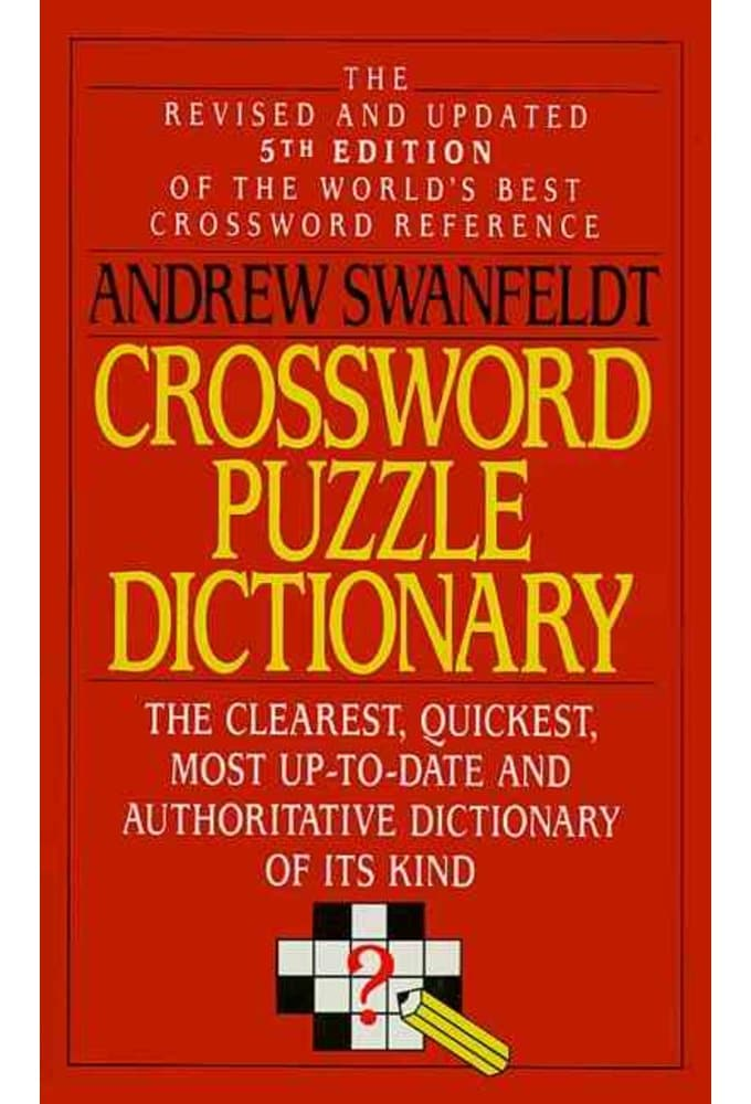 andrew swanfeldt crossword puzzle dictionary 7th edition