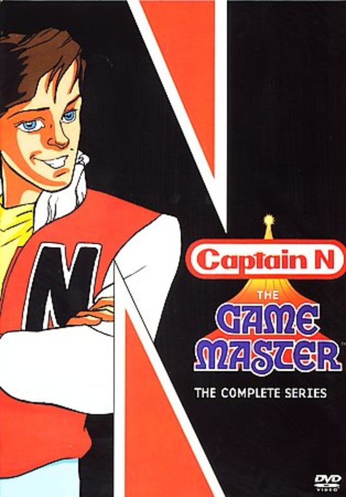 Captain N: Game Master - Complete Series (4-DVD)
