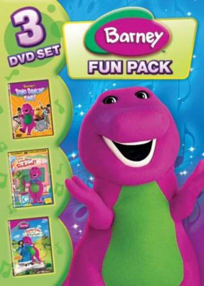Barney - Fun Pack (3-DVD)