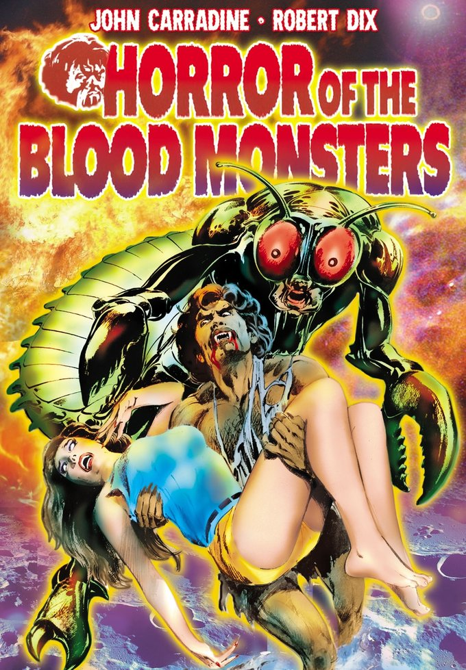 "Horror of the Blood Monsters - 11"" x 17"" Poster"