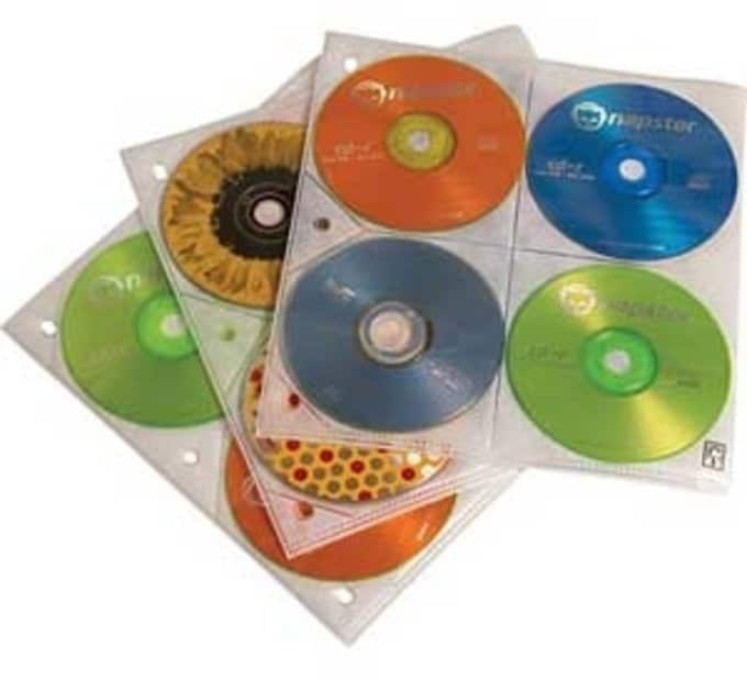 Case Logic CDP-80 10-Pack CD/DVD Storage Pages