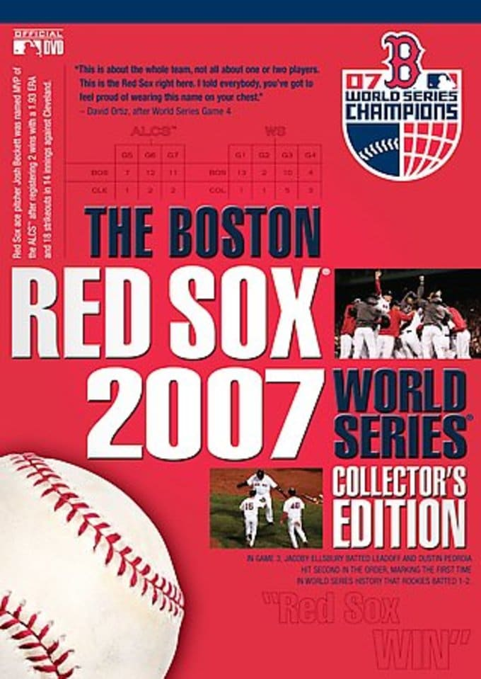 Baseball - Boston Red Sox 2007 World Series