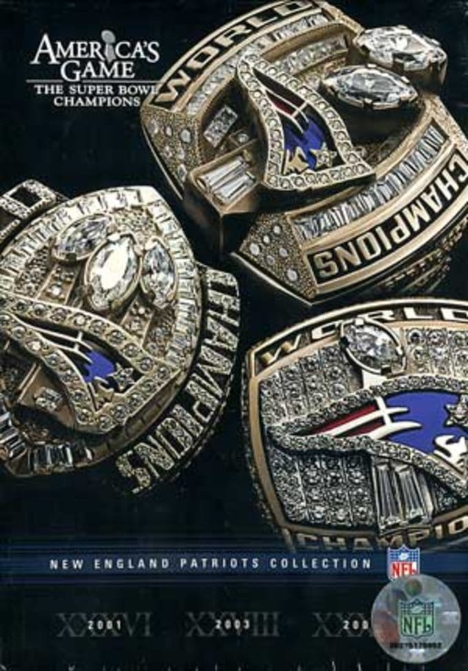 NFL America's Game: New England Patriots (3-DVD)