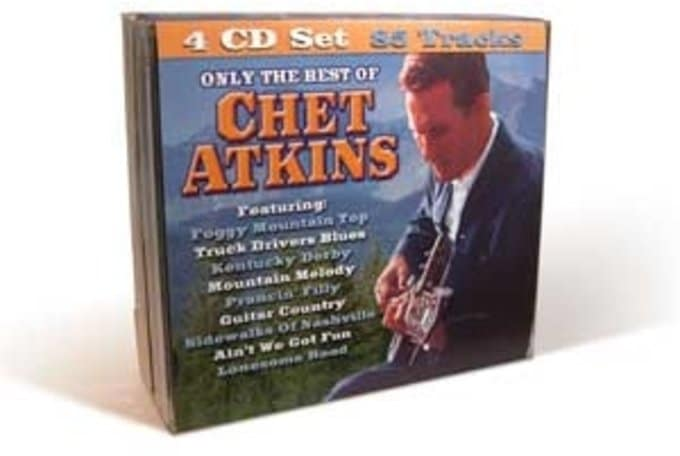 Only The Best of Chet Atkins (4-CD)