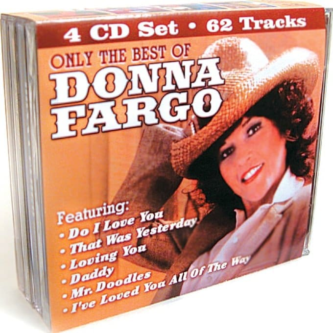 Only The Best of Donna Fargo (4-CD Bundle Pack)