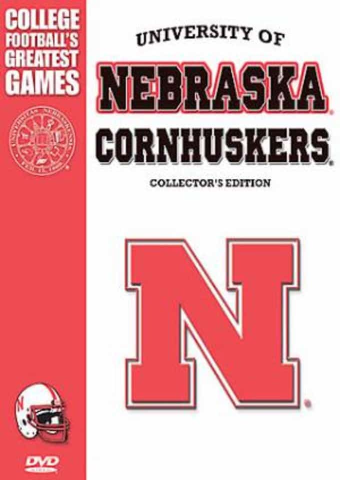 Nebraska Cornhuskers Greatest Games (5-DVD