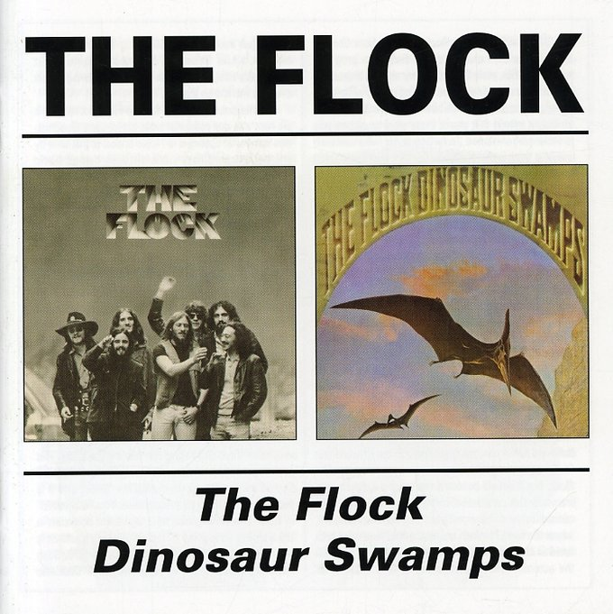 The Flock / Dinosaur Swamps (2-CD)