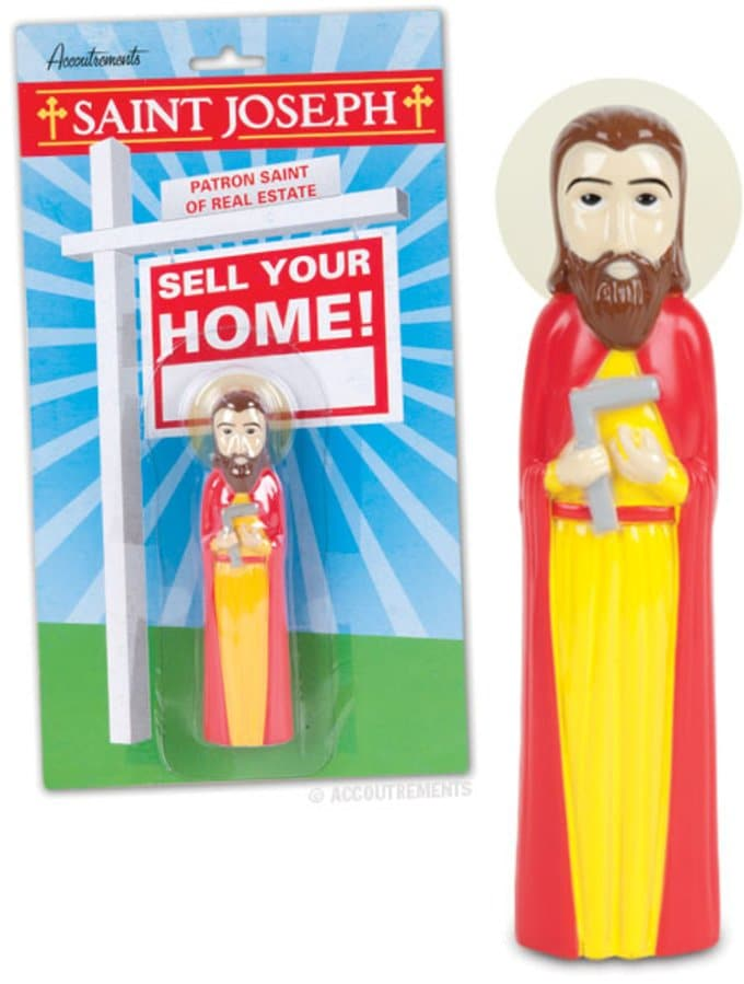 Saint Joseph - Patron Saint of Real Estate