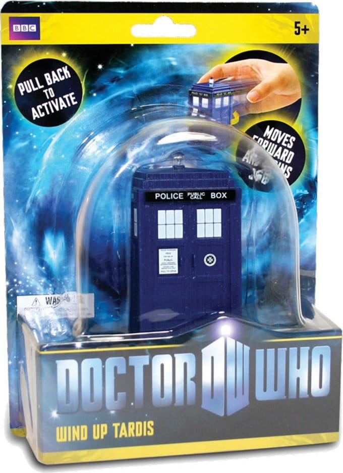 Doctor Who - Tardis - Pull Back Wind-Up Toy