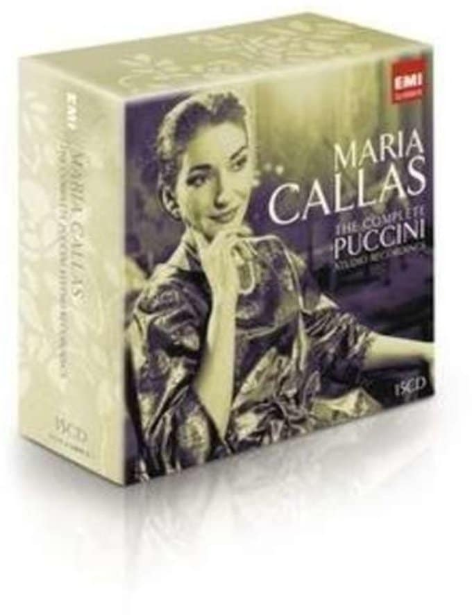 Callas Sings Puccini: Complete (15-CDs)