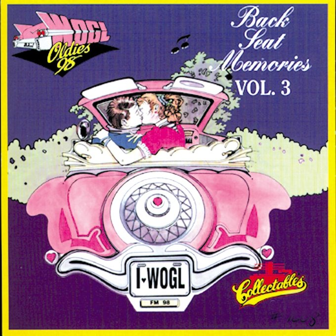 WOGL Oldies 98.1FM - Back Seat Memories, Volume 3