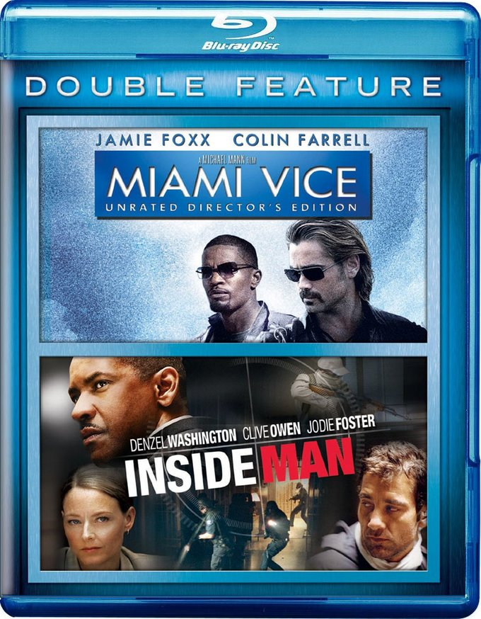 Miami Vice / Inside Man (Blu-ray)
