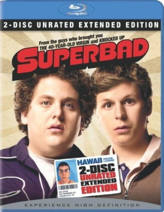 Superbad (Blu-ray, 2-Disc Unrated Extended Cut)