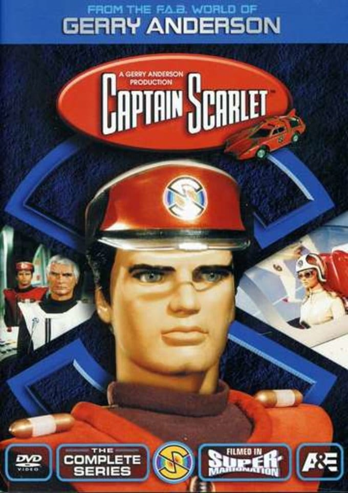 Captain Scarlet - Complete Series (4-DVD)