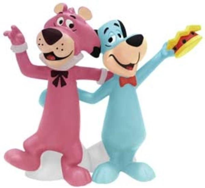 Huckleberry Hound & Snagglepuss - Salt & Pepper