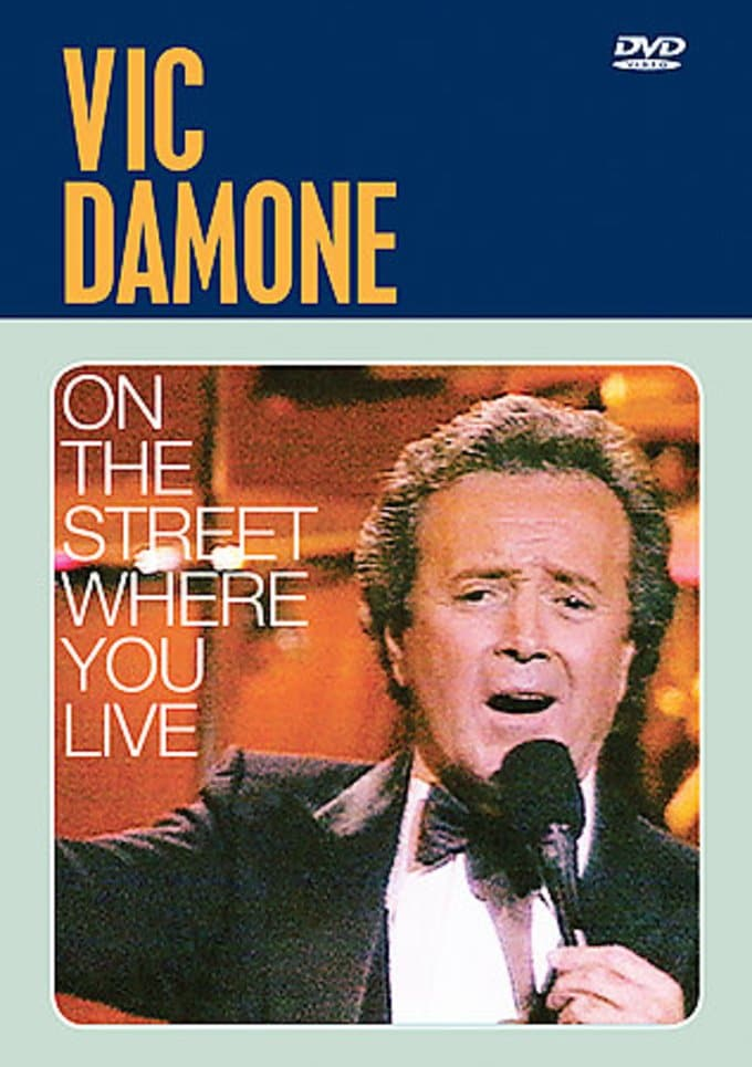 Vic Damone- On The Street Where You Live (Live At