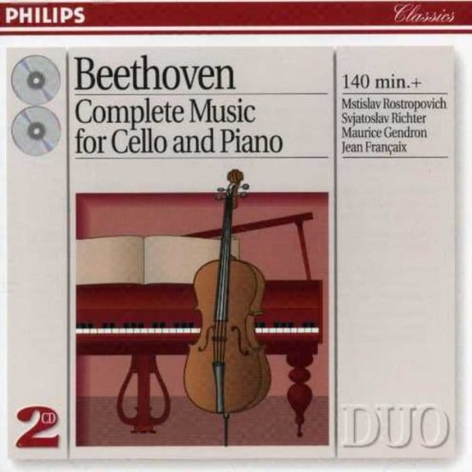 Beethoven: The Complete Music for Cello & Piano