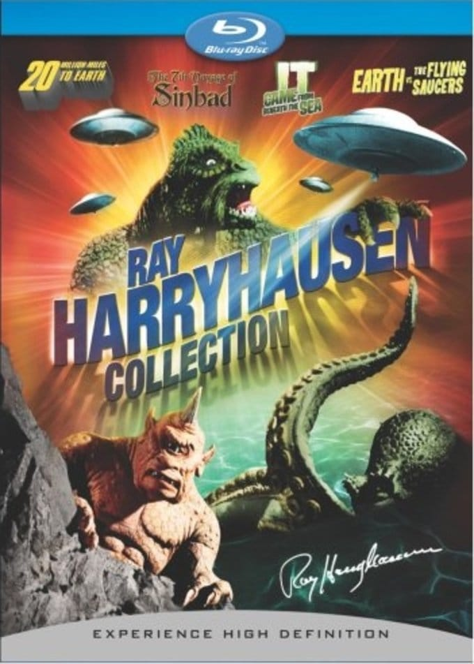 Harryhausen Giftset (Blu-ray, 4-Disc Set)
