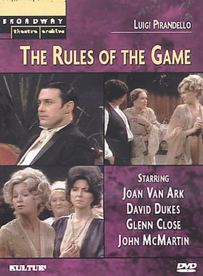 Broadway Theatre Archive - The Rules of the Game