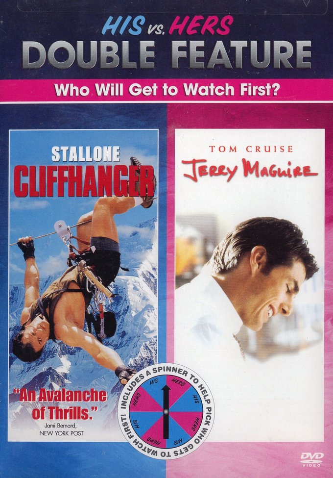 His vs. Hers Double Feature (Cliffhanger / Jerry