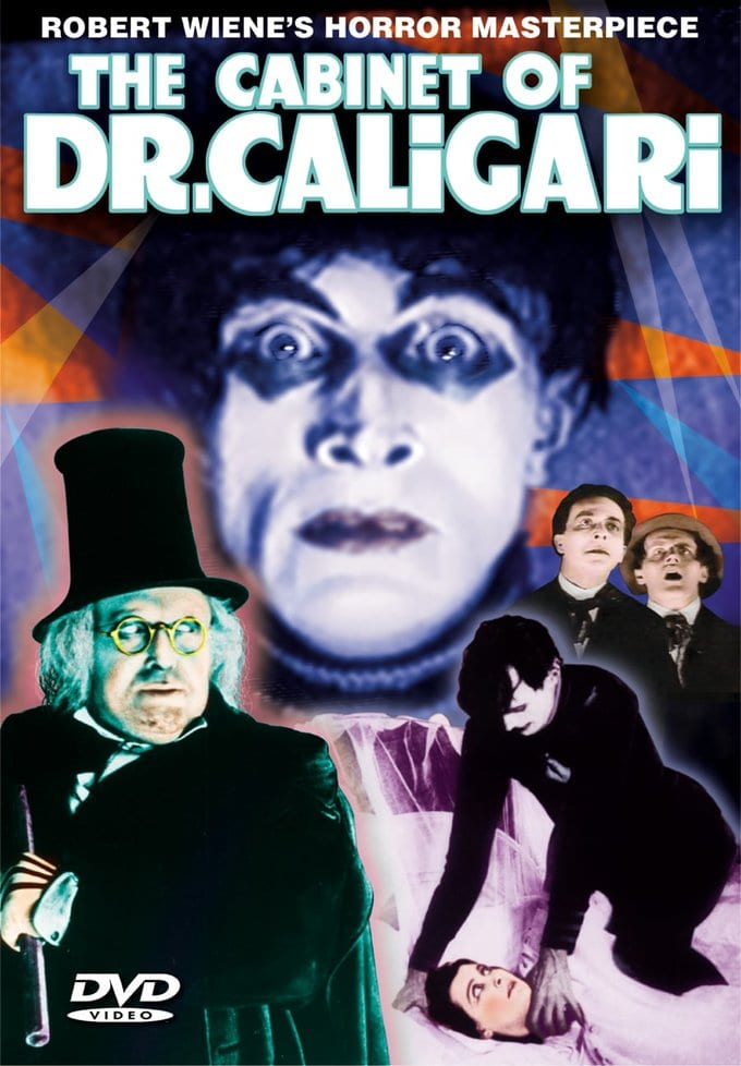 "Cabinet of Dr. Caligari - 11"" x 17"" Poster"