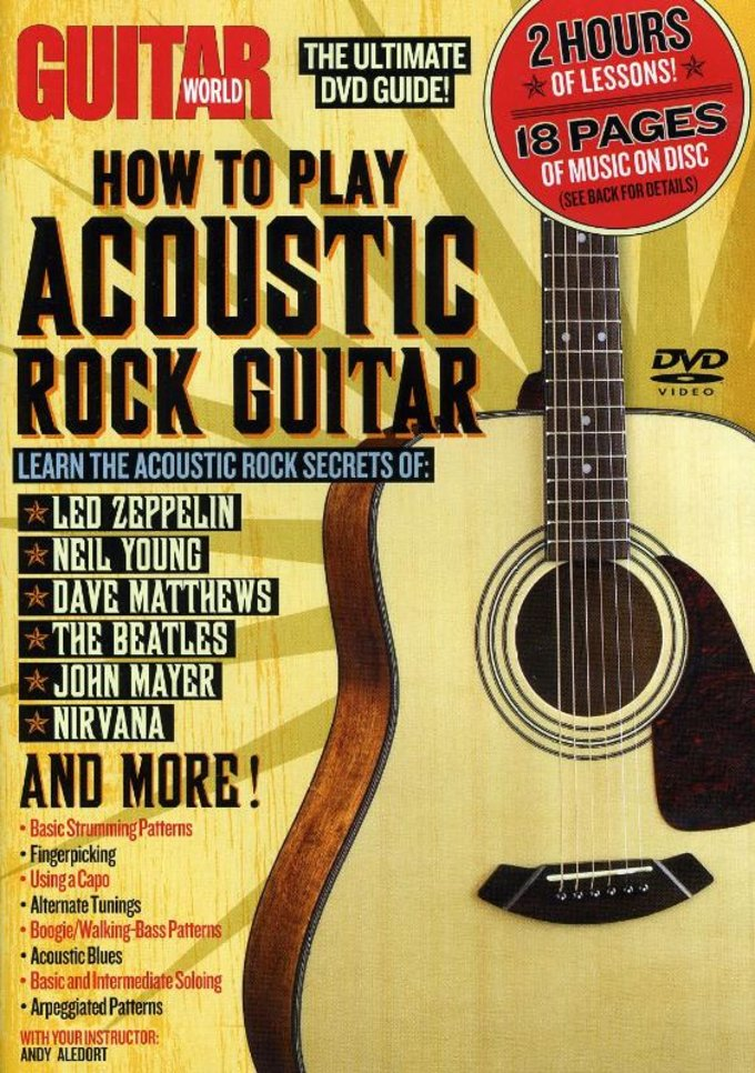 Guitar World: How To Play Acoustic Rock Guitar