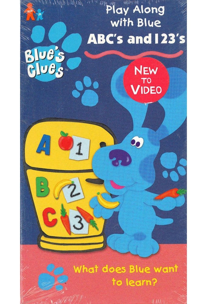 Blue's Clues: ABC's and 123's VHS (1999) Starring Traci ...