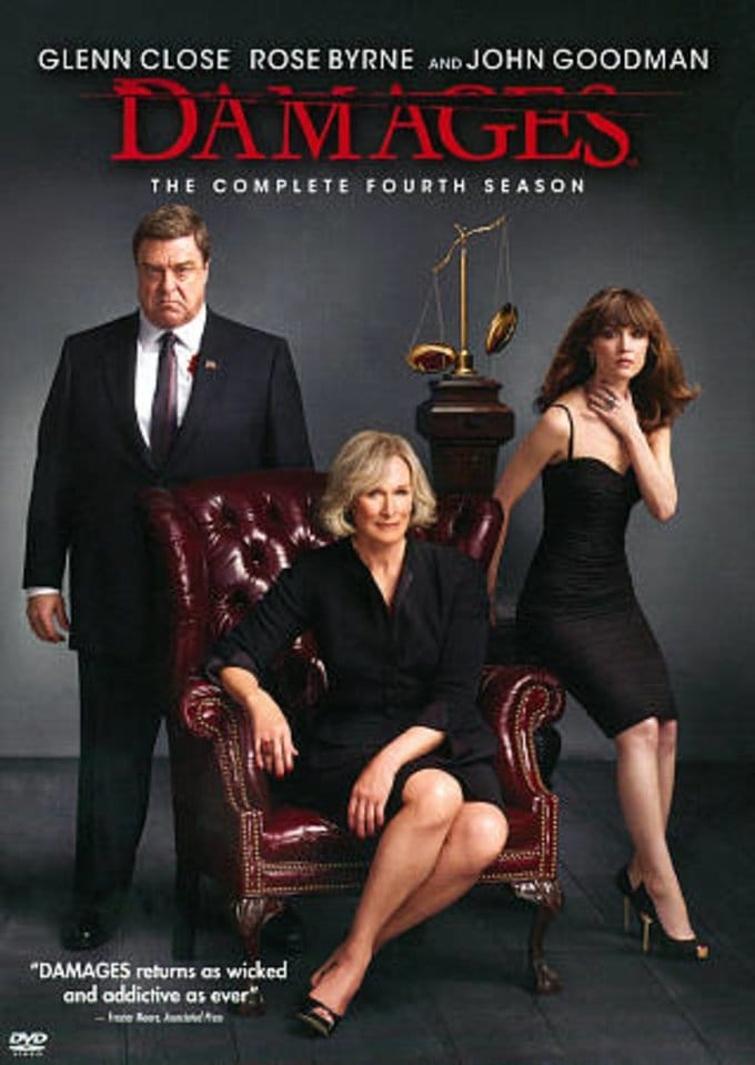 Damages - Complete 4th Season (3-DVD)