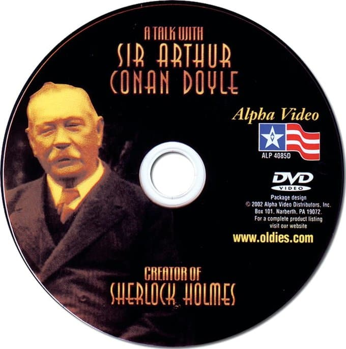 A Talk with Sir Arthur Conan Doyle [Paper-Sleeve]